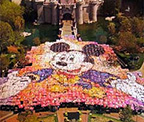 Disney Castle Mosaic